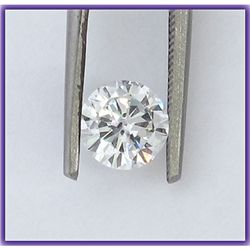 EGL Certified Diamond Round 0.50 ctw E,VS2