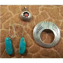 Small Lot Native American Jewelry