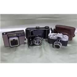 3 Assorted Cameras - Beier, 3M & Tower