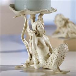 Mermaid Pillar Candle Holder
