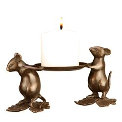 Mouse Bearers Candleholder