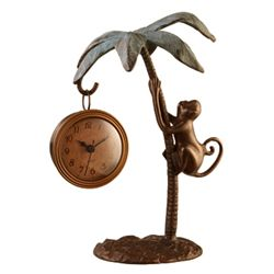 Monkey & Palm Tree Clock