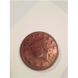 1819 ONE CENT MATRON LIBERTY HEAD