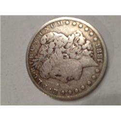 1883 SILVER MORGAN DOLLAR