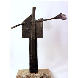 Pablo Picasso Original, limited Edition Bronze -Construction with Ceramic-Tile