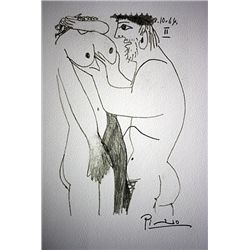Picasso Original Signed Lithographs