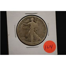 1941 Walking Liberty Half Dollar; EST. $15-25