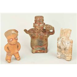 - Pre-Columbian Figurines (3 items)