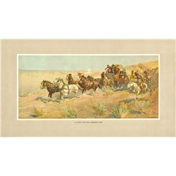 Oscar Edmund Berninghaus - A Fight for The Overland Mail