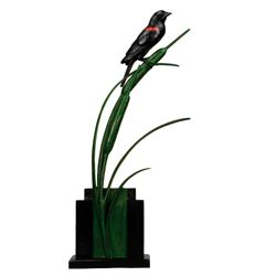 Tony Hochstetler - Red Wing Black Bird and Cat Tails