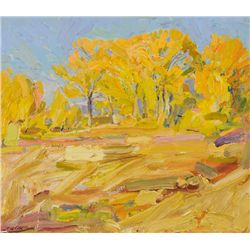 Rod Goebel - Golden Cottonwoods