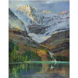 Gil Dellinger - Lake O'Hara; Where Sargent Painted