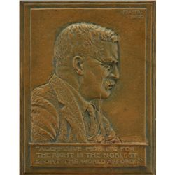 James Earle Fraser - Roosevelt Bas Relief