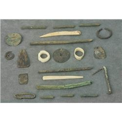 - Prehistoric Artifacts and Bracelets (24 items/4 Trays)