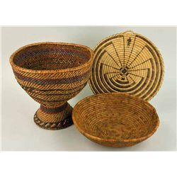 Pima - Baskets and Mat (3 items)