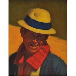 Elias Rivera - Man Wearing a Yellow Hat