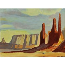 Edith Hamlin - New Mebyico Buttes