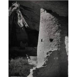 Laura Gilpin - Round Tower House, Mesa Verde