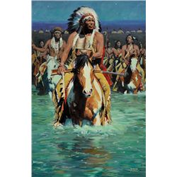 David Mann - Cheyenne Crossing