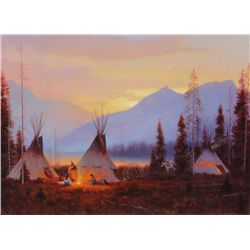 Gary Kapp - Evening Encampment