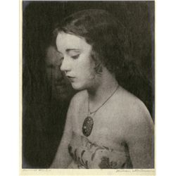 PORTRAIT OF FAY WRAY BY WILLIAM MORTENSEN