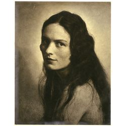 PORTRAIT OF FEMALE SUBJECT BY WILLIAM MORTENSEN