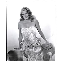 CAMERA NEGS OF RITA HAYWORTH BY COBURN, ED CRONENWETH, HURRELL, A.L. WHITEY SCHAFER & NED SCOTT