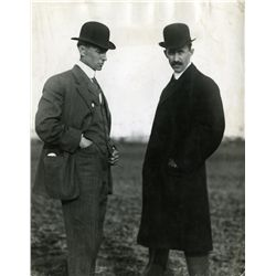 PORTRAIT OF ORVILLE AND WILBUR WRIGHT