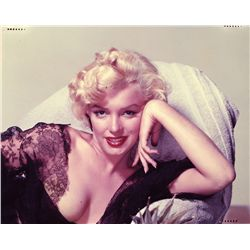 COLOR TRANSPARENCY OF MARILYN MONROE BY NICKOLAS MURAY