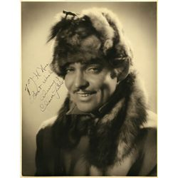 COLLECTION OF (6) OVERSIZED SIGNED PORTRAITS FROM HOLLYWOOD'S GOLDEN AGE