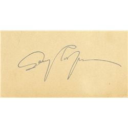 GARY COOPER PAIR OF CLIPPED SIGNATURES