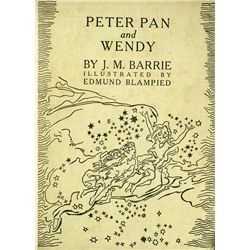 PETER PAN AND WENDY BY J.M. BARRIE, 1940 ILLUSTRATED EDITION SIGNED BY BORIS KARLOFF