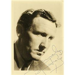 COLLECTION OF (4) PERSONALITY PORTRAITS SIGNED BY SPENCER TRACY