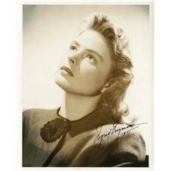 INGRID BERGMAN SIGNED 1945 PORTRAIT