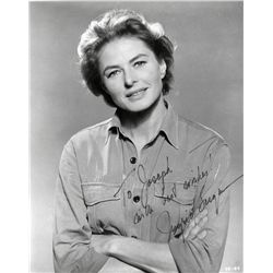 COLLECTION OF (3) INGRID BERGMAN SIGEND PHOTOGRAPHS + SIGNATURES