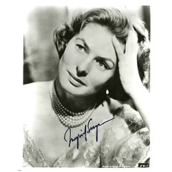 INGRID BERGMAN PAIR OF SIGNED PHOTOS
