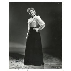 INGRID BERGMAN 8 X 10 SIGNED PORTRAIT BY BULL FROM DR. JEKYLL AND MR. HYDE