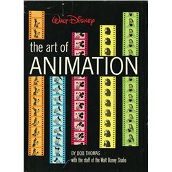 WALT DISNEY: THE ART OF ANIMATION BOOK SIGNED BY ROY DISNEY AND 190+ OTHERS