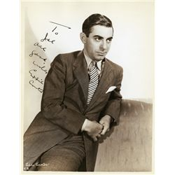 (2) MILTON BERLE AND EDDIE CANTOR SIGNED PHOTOGRAPHS
