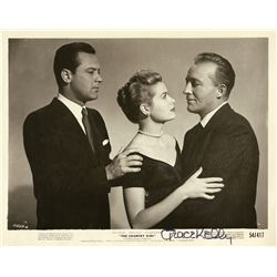 GRACE KELLY 8 X 10 SIGNED PUBLICITY PHOTO FROM THE COUNTRY GIRL