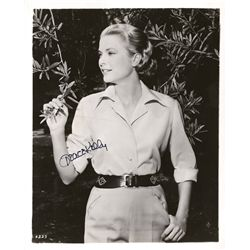 GRACE KELLY SIGNED PHOTOGRAPH