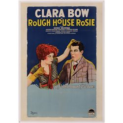 "ROUGH HOUSE ROSIE CLARA BOW ""STYLE B"" ONE-SHEET POSTER"