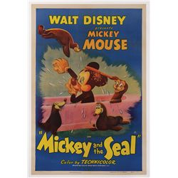 MICKEY AND THE SEAL 1-SHEET POSTER