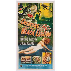 CREATURE FROM THE BLACK LAGOON ORIGINAL NM THREE-SHEET POSTER