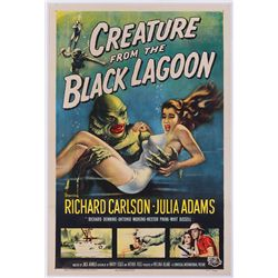 CREATURE FROM THE BLACK LAGOON ORIGINAL NM ONE-SHEET POSTER