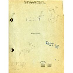 COLLECTION OF THREE (3) JOAN CRAWFORD VEHICLE MGM STUDIO SCRIPTS