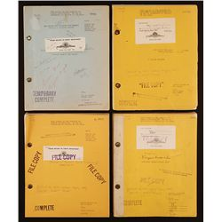 FOUR (4) TARZAN MGM STUDIO SCRIPTS