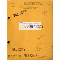 ABBOTT AND COSTELLO MGM COPY OF ORIGINAL RIO RITA SCRIPT