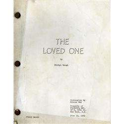 THE LOVED ONE ORIGINAL FIRST DRAFT SCRIPT