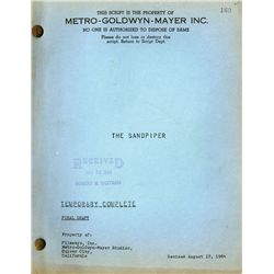 THE SANDPIPER ORIGINAL FINAL DRAFT SCRIPT